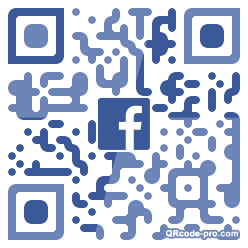 QR code with logo 25Ob0