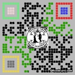 QR code with logo 25Pd0
