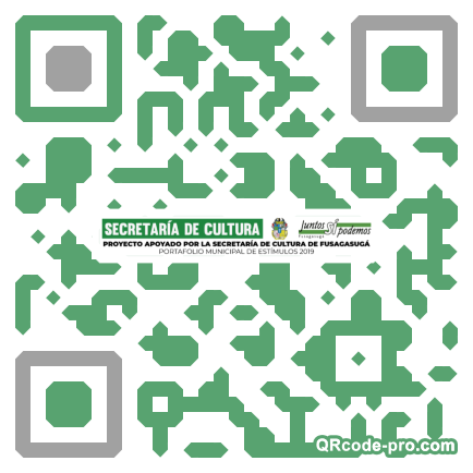 QR code with logo 25ST0