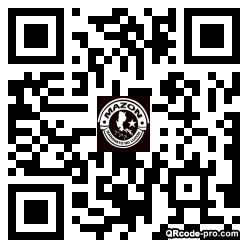QR code with logo 25Sg0