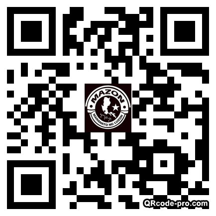 QR code with logo 25Sn0