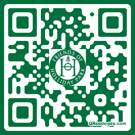 QR code with logo 25T30