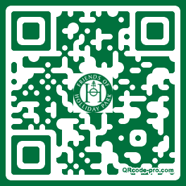 QR code with logo 25Td0