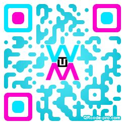 QR code with logo 25WL0