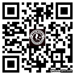 QR code with logo 25Zl0