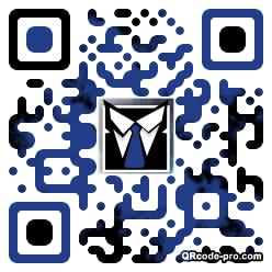 QR code with logo 25Zw0