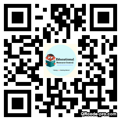 QR code with logo 25mG0