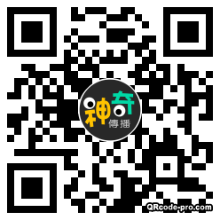 QR code with logo 25s70