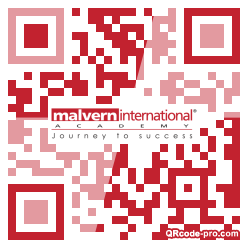 QR code with logo 25t80