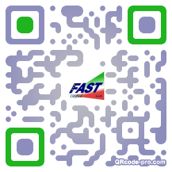 QR code with logo 25wb0