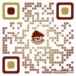 QR code with logo 25y70