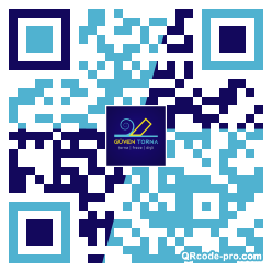 QR code with logo 25yT0