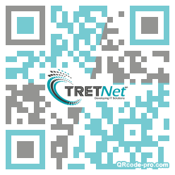 QR code with logo 265X0