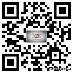 QR code with logo 266A0