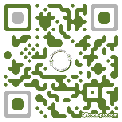 QR code with logo 266P0