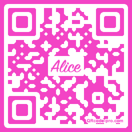 QR code with logo 26CW0