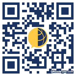 QR code with logo 26Nu0