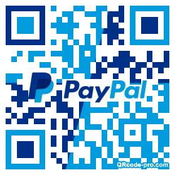QR code with logo 26R20