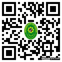 QR code with logo 26Ru0