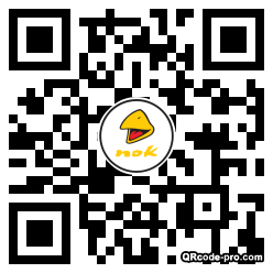 QR code with logo 26Rz0
