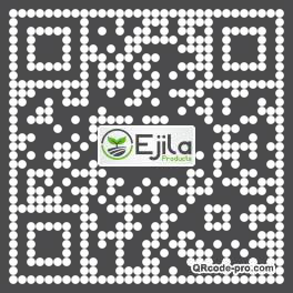QR code with logo 26Vt0