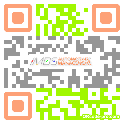 QR code with logo 26X20