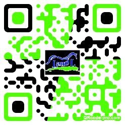 QR code with logo 26Z80
