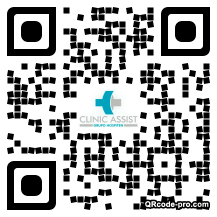 QR code with logo 26a70