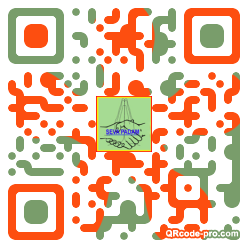 QR code with logo 26gp0