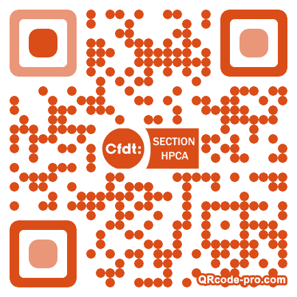 QR code with logo 26nm0