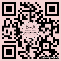 QR code with logo 26vr0