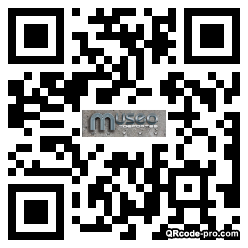 QR code with logo 272m0