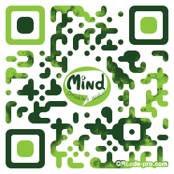 QR code with logo 27A70
