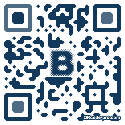 QR code with logo 27Fo0