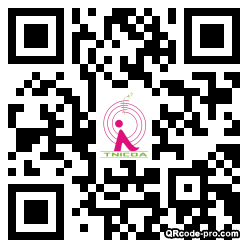 QR code with logo 27MG0