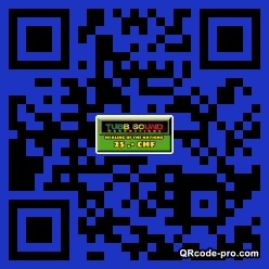 QR code with logo 27Mi0