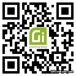 QR code with logo 27P10