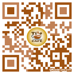 QR code with logo 27T70