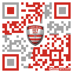 QR code with logo 27Ti0
