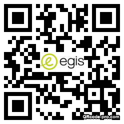 QR code with logo 27UV0