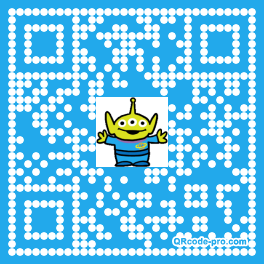 QR code with logo 27Z00