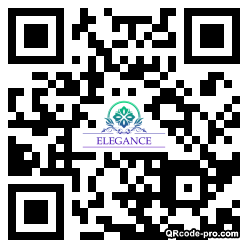 QR code with logo 27mm0