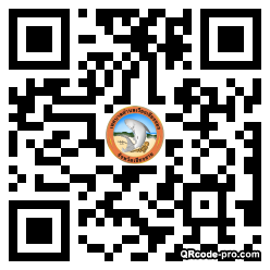 QR code with logo 27pk0