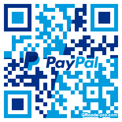 QR code with logo 284C0