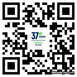 QR code with logo 285N0