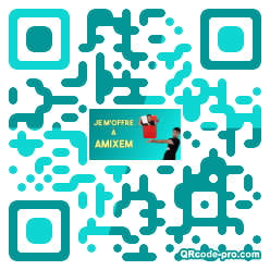 QR code with logo 286M0