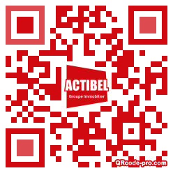 QR code with logo 28A80