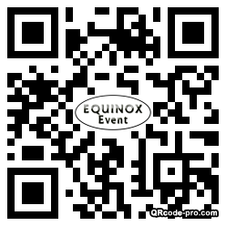 QR code with logo 28Ch0
