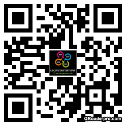 QR code with logo 28Ho0