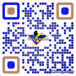 QR code with logo 28IT0